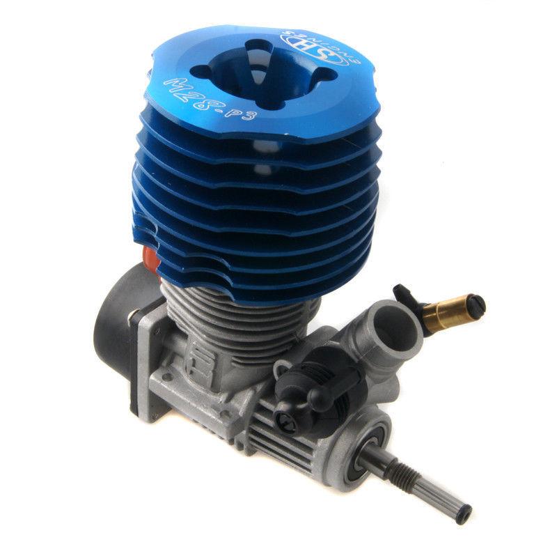 RC Blue SH 28 engine M28-P3 4.57CC Pull Starter Nitro 1/8 Buggy Monster Truggy(China (Mainland))