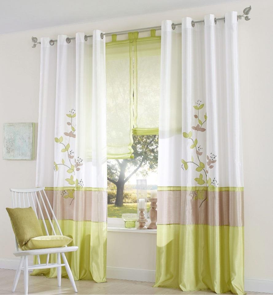 Online kopen wholesale groene zijden gordijnen uit china - Moda en cortinas de salon ...
