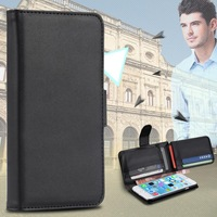 For S5 Deluxe Retro Wallet Leather Case for Samsung Galaxy S5 Flip Stand Cover With Credit Slot Photo Frame Multi-function 03913