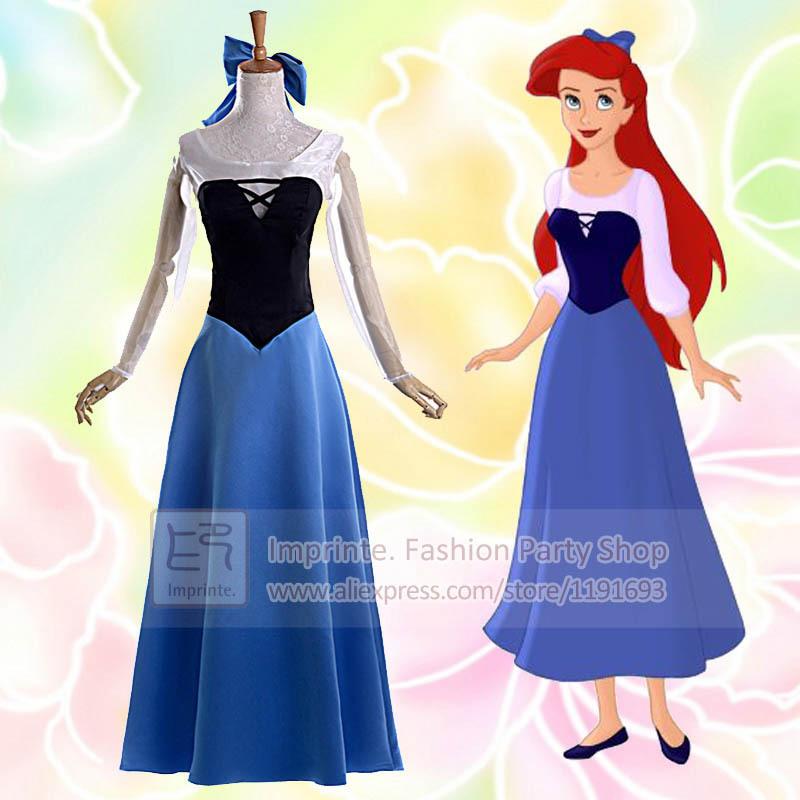 Princess Ariel Adult Costume Princess Ariel Dress Costume For Adults