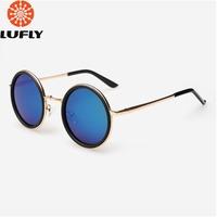 New round polarized men sunglasses fashion women sun glasses oculos de sol FSK861