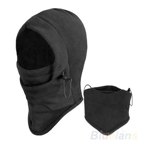 2015 New big disouct Hot Sale Thermal Fleece Balaclava Hood Police Swat Ski Bike Wind Winter Stopper Face Mask,black colors(China (Mainland))