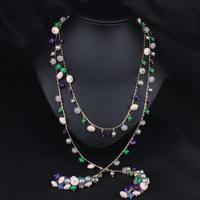 New Design hot sale Fashion Charm Crystal bib choker Necklace rhinestone gem flower Chain Necklace jewelry for women 2015