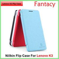 2015 New Original Nillkin Freash Leather Case  For Lenovo K3 Lemo (K30-W)
