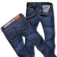 Men's Slim Fit Jean Demin Straight Trousers Pants Jeans Mens Man Size 30 31 32 33 34 36 38