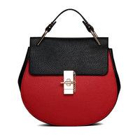 Hot  Sale 2015 New winter elegant ladies pig hand bag High Quality PU Leather women Handbag Bags Womens Shoulder Messenger Bag
