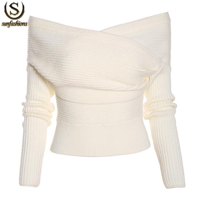 Женский пуловер SUNFASHION sweater141211044