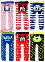 18pcs/lot 2015 New Cute Baby Pants Busha PP Pants Baby Boy Girl Trousers Children Leggings Styles from #008~#028