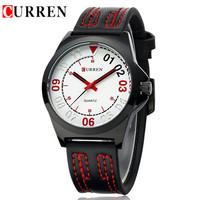 Designer Mens Watches Top Brand Luxury CURREN Original Watch Relogios Masculinos De Luxo Leather Band Quartz Sports Wristwatches