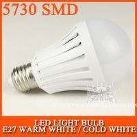 10pcs/lot E27 LED Lamp E27 bulb led E27 light 5730SMD 3W 5W 10W 15W 20W AC220V 230V 240V Cold white/warm white