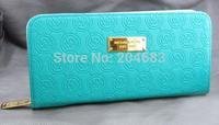 2015 NEW FREE SHIPPING Classic Luxury Michael korss wallet Genuine Leather michaell korss Purse women brand bags