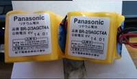 Free shipping ! 2Pcs Original BR-2/3AGCT4A Lithium 6V battery For Panasonic FANUC A98L-0031-0025