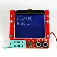 Large 12864 LCD Transistor Tester Capacitance ESR Meter Diode Triode MOS NPN LCR