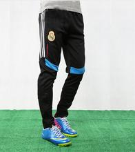 2015 di alta qualità professionale calcio pantaloni degli uomini sottile magro formazione in esecuzione pantaloni tuta pantalone gamba casual pantaloni a cavallo(China (Mainland))