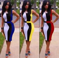 2015 new women summer sexy dress explosion models party dress Slim pencil bodycon women dress plus size women dress LF01