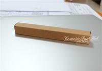 1.6*1.6*14cm Kraft Paper Box Pen Brush Box Cosmetic Lipstick Bottle Box Custom Paper Boxes Free Shipping