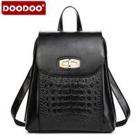 Best PU Women Daily Backpack Ladies Casual Backpacks 9 Colors Brand Design Back Bag Preppy Style Alligator Vintage Purse Female