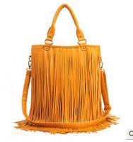 Spring new female bag shoulder bag PU leisure handbag