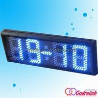 led wall clock,led digital display clock