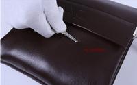 2015 latest fashionable men messenger bag business briefcase korean style shoulder bag