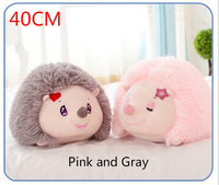 Free shipping 2015 new super 40CM cute hedgehog plush toy high quality doll home decoration gift for baby children dolls toys