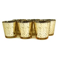New!Buy 2 lots 15% discount!  Glass Gold Mercury Wedding Party Votive candle holder USD33.00 for 12pcs/Each USD2.75