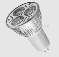 2015NEW GU5.3 3w 220V 110V led spot lamps warm white & white 500PCS free shipping Dhl fedex ems ups