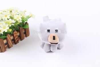 Высокое качество 22 см Minecraft анимация игры плюшевые куклы плюшевые игрушки белый волк детский подарок на день рождения для Brinquedos