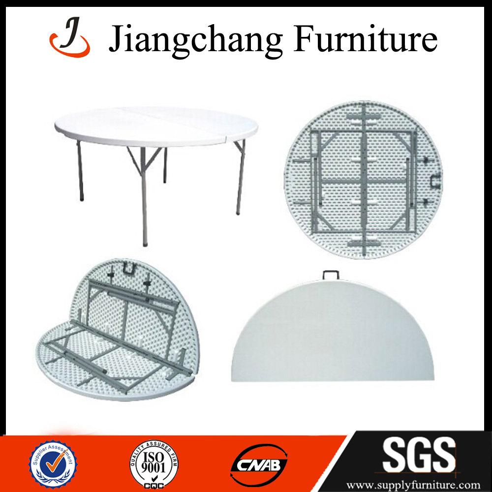 6ft Round Plastic Folding Table(China (Mainland))