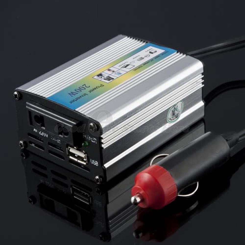 1 шт. 12 В постоянного тока в переменный <b>220</b> В адаптер авто ...