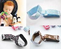 Free shipping Newborn Baby Feeding bottle slip-resistant belt baby nursing bottle fixing ribbon 52cm