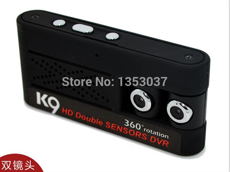 1280*960P Dual Lens Mini DV Video Recorder Cameras Rotate 360 Degrees Support TF Card Mini DV DVR Camcorders(China (Mainland))