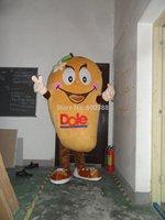 New mango with big eyes mascot fruit costume for adults mango mascot costume