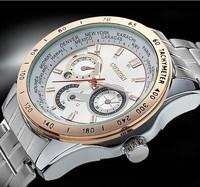 Full Steel CURREN casual quartz watch men sports watches men luxury brand military wristwatches relogio masculino men watch