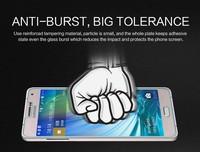 Galaxy A7 Tempered Glass Flim,NILLKIN Amazing H Nano Anti-burst Tempered Glass Screen flim For Samsung Galaxy A7 A700 + freeship