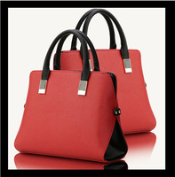 New bag style  pu leather bags women brand fashion women bag shoulder bags 2015 lady Sfactory sale