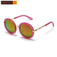 New 2015 polarized driving men sunglasses fashion round vintage women sunglasses WLJ9366