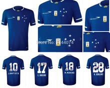 Tailândia Top 3A + + + 2016 nova cruise 2015 Cruzeiro home futebol jersey 15/16 nova brasil camisetas futbol futebol jersey unifrom(China (Mainland))
