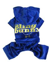 4Color New Bling Rhinestone Printed Pet Dog Clothes Soft Velvet Dog Jumpsuit Puppy Coat Warm Pajamas Dog Clothing S M L XL