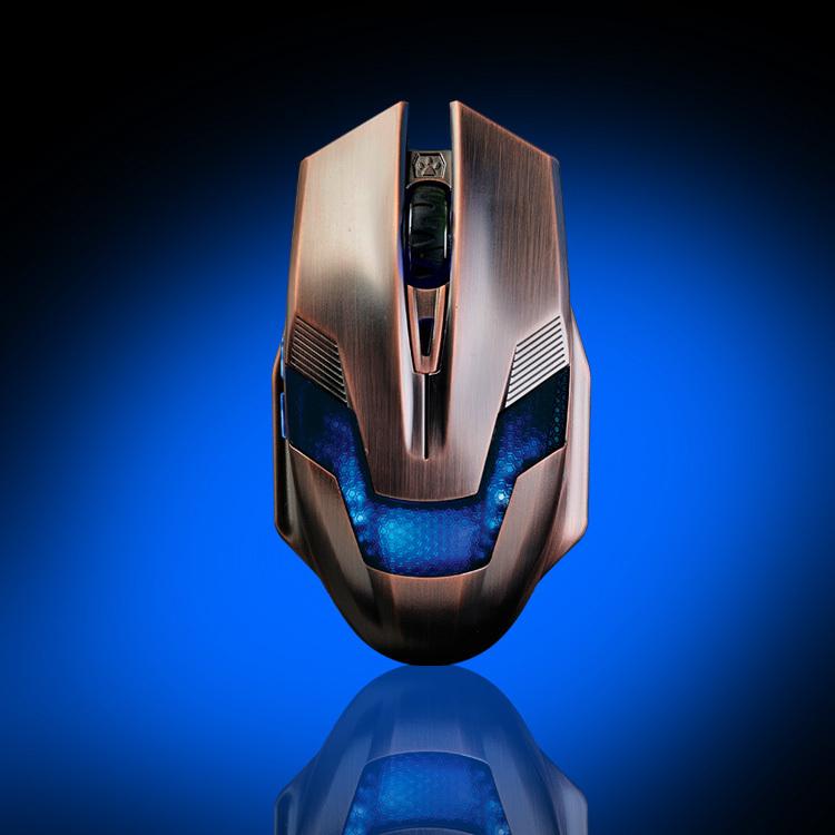 Ajazz Green Hornet Professional ergonomic usb magic 2000 dpi 6d optical Gaming Mouse para jogos gamer led mice(China (Mainland))