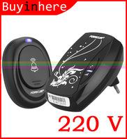 2015 AC 220V Digital LED EU Plug 36 Tones Wireless Smart Home Doorbell Door bell Receiver Waterproof Remote Control Button