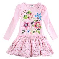 Baby Girl Princess Dress Nova Kids Girl Floral Dress Lovely Tutu for  Baby Girl Roupa Infantil H5795