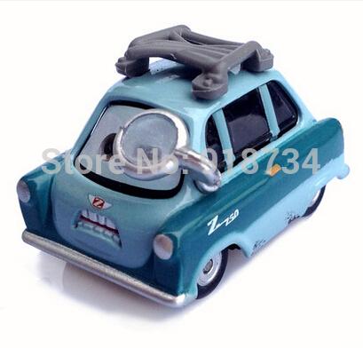 100% original!!! RARE Pixar Cars diecast Dinoco Professor Z Free shipping(China (Mainland))