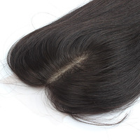 Free Shipping Stock Silk Top closures Middle Part Brazilian Silk Based ClosuresSilk Hair Closure Straight