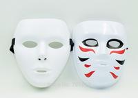 2015 Hot Sale 2PCS JabbaWockeeZ + Golden Bomber  Cosplay  Mask  PVC Halloween Carnival Party Mask  New Arrival  Free Shipping