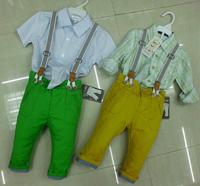 QT93 new 2015 children clothing boys overalls 2-8 age harem pants kids clothes free shipping 5pcs/ lot
