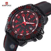 Top Brand Luxury Watch Men Waterproof 30M Rotary Dial Sports Watches Men Quartz Military Watch Leather Relogios Men Wristwatch