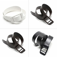 Mens Leather Vintage Classic Jean Pin Buckle Belts Vogue Waistband Strap  Top