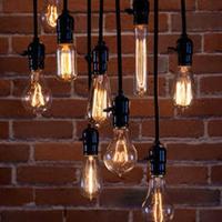 Edison light bulb E27 retro loft Bar Cafe American country antique chandelier