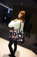 England Style Women Handbag PU Leather Women Shoulder Bags Ladies Flag Casual Tote Fashion Women Hobo Clutch Purse